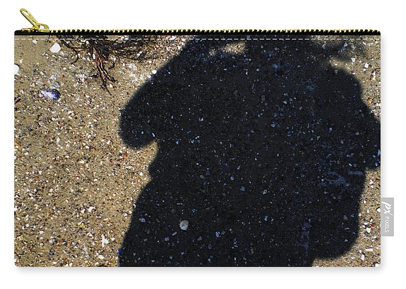 Colette Carry-all Pouch featuring the photograph Becoming One With The Beach Stones by Colette V Hera Guggenheim