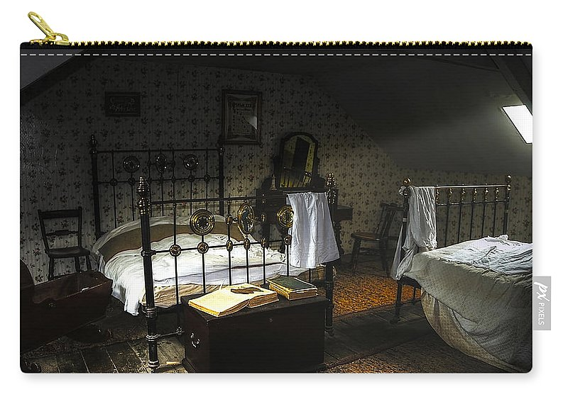 Beamish Carry-all Pouch featuring the photograph Bedroom by Svetlana Sewell