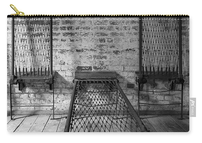 Dark Carry-all Pouch featuring the photograph Beds by Svetlana Sewell