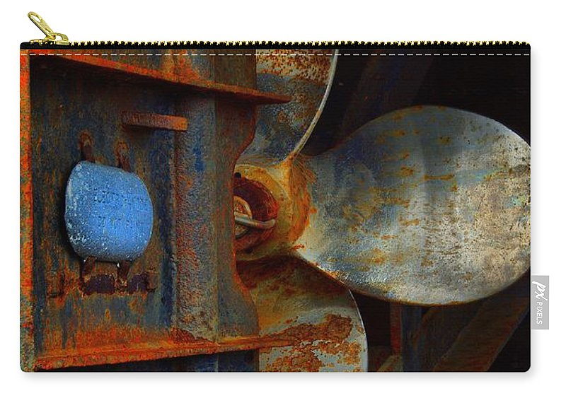Abstract Carry-all Pouch featuring the photograph Been There by Lauren Leigh Hunter Fine Art Photography