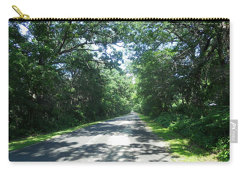 Roads Carry-all Pouch featuring the photograph Beer Can Alley by Coleen Harty