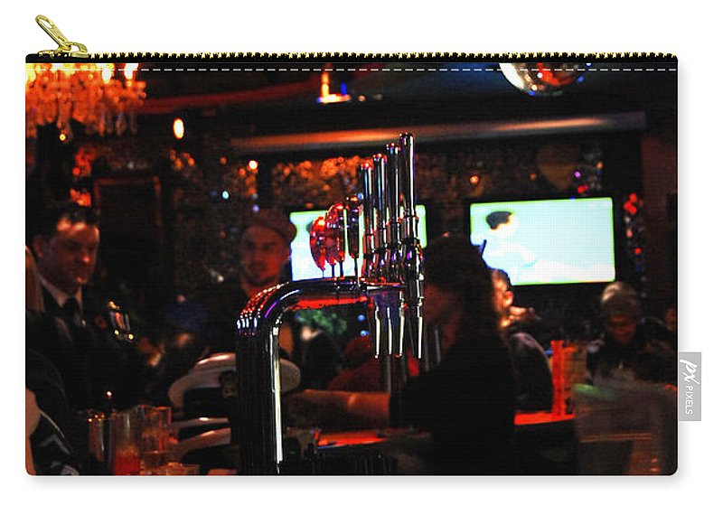 Beer Carry-all Pouch featuring the photograph Beer Night by Gina Dsgn