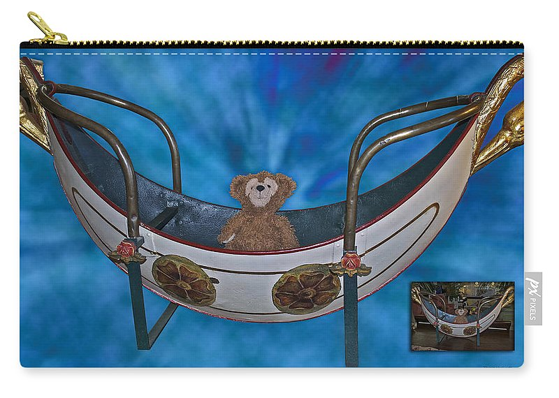 Fantasy Carry-all Pouch featuring the photograph Before And After Sample Art 22 by Thomas Woolworth