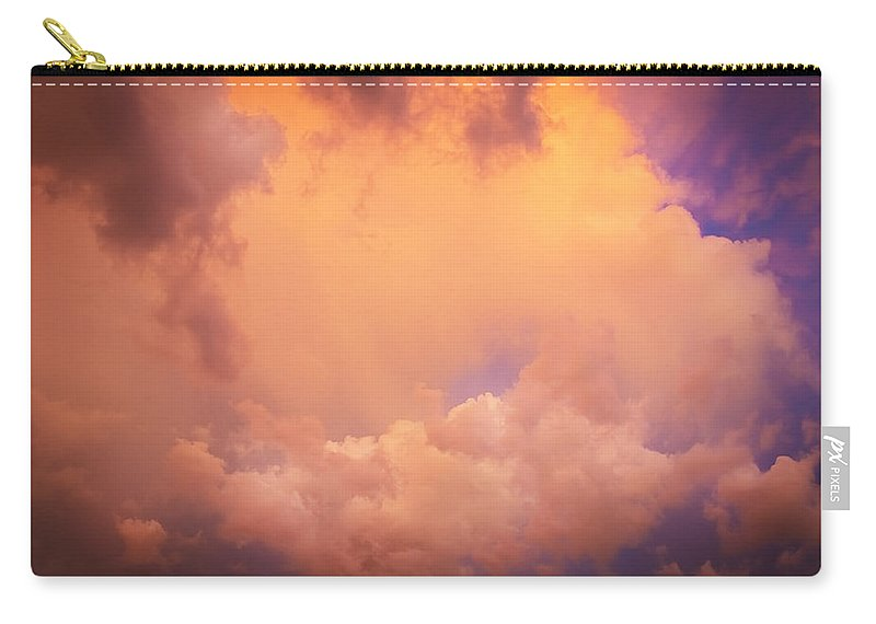 Clouds Carry-all Pouch featuring the photograph Before The Storm Clouds Stratocumulus 7 by Rich Franco