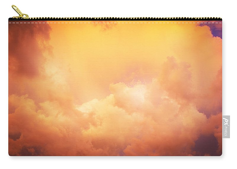 Clouds Carry-all Pouch featuring the photograph Before The Storm Clouds Stratocumulus 8 by Rich Franco