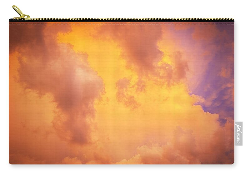 Clouds Carry-all Pouch featuring the photograph Before The Storm Clouds Stratocumulus 9 by Rich Franco