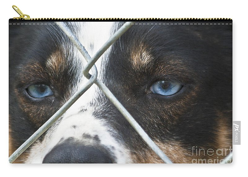 Heiko Carry-all Pouch featuring the photograph Behind Fences by Heiko Koehrer-Wagner