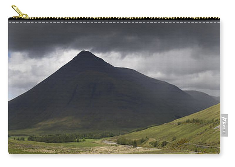 Moody Carry-all Pouch featuring the photograph Beinn Dorain Panorama by Gary Eason