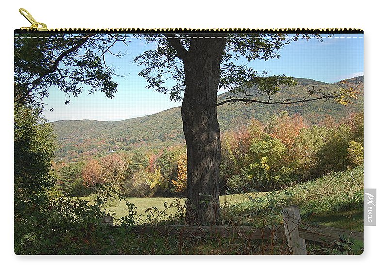 Gilford Carry-all Pouch featuring the photograph Belknap Mountain by Mim White