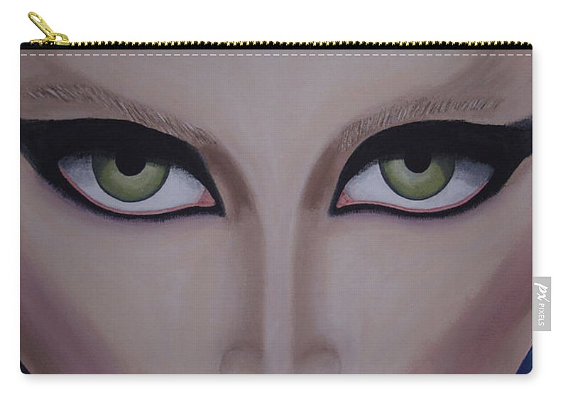 Beautiful Carry-all Pouch featuring the painting Belle by Dean Stephens