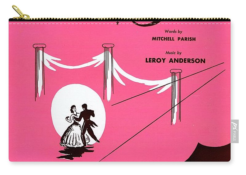 Nostalgia Carry-all Pouch featuring the photograph Belle Of The Ball by Mel Thompson