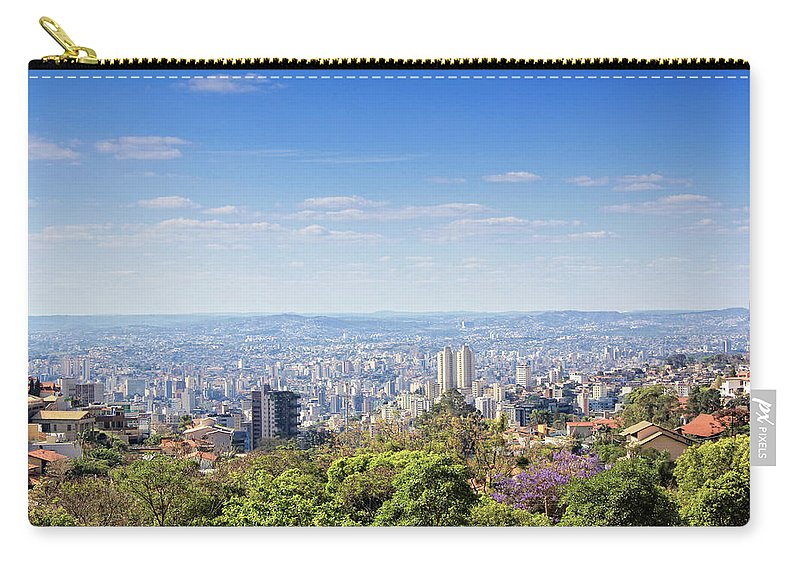Tranquility Carry-all Pouch featuring the photograph Belo Horizonte by Antonello