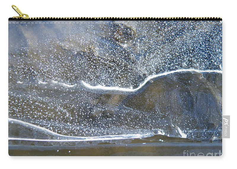 Ice Carry-all Pouch featuring the photograph Below Zero by Brian Boyle