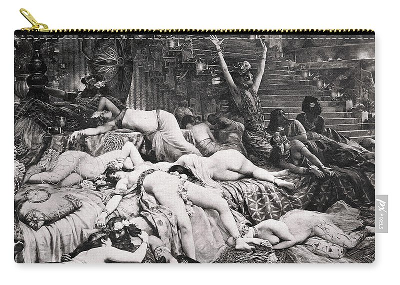 Ancient Carry-all Pouch featuring the photograph Belshazzars Feast by Granger