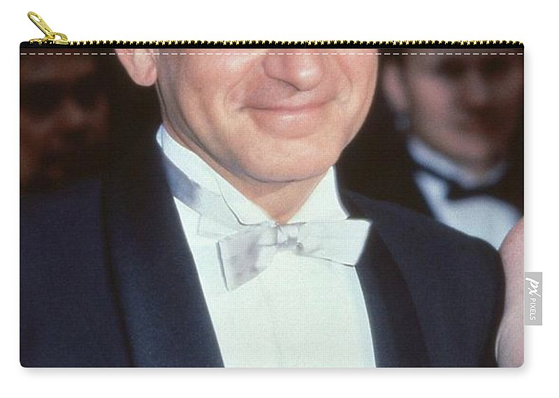 Ben Carry-all Pouch featuring the photograph Ben Kingsley by David Fowler