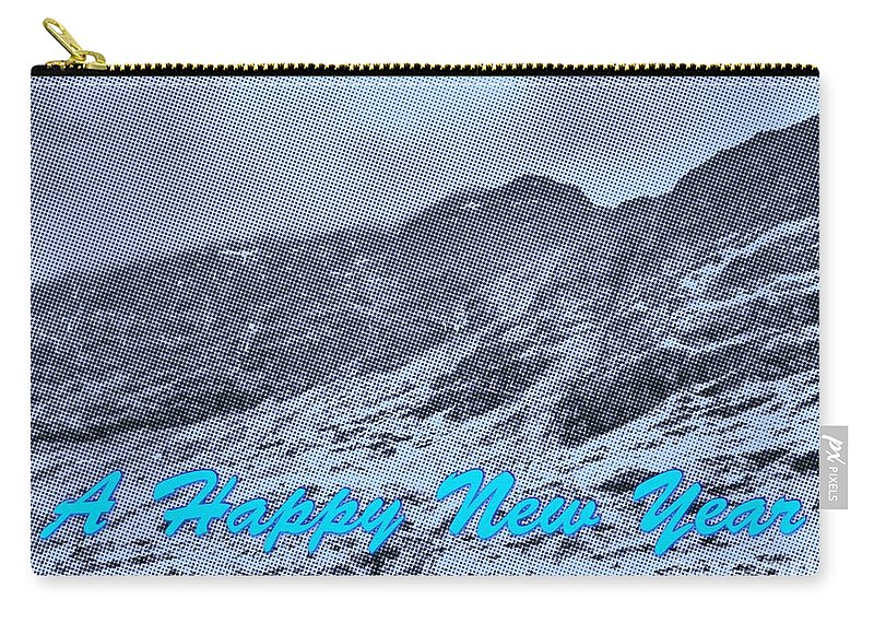 Mountains Carry-all Pouch featuring the photograph Ben Nevis Happy New Year Greeting by Joan-Violet Stretch