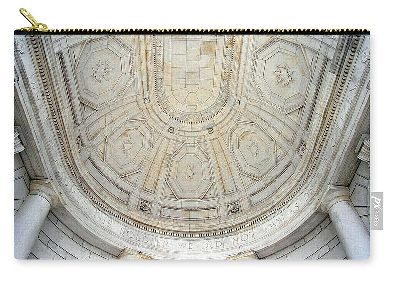 Arlington Carry-all Pouch featuring the photograph Beneath This Marble Ceiling by Cora Wandel