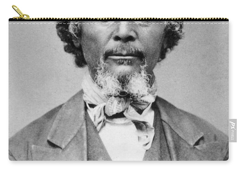 1879 Carry-all Pouch featuring the photograph Benjamin 'pap' Singleton (1809-1892) by Granger