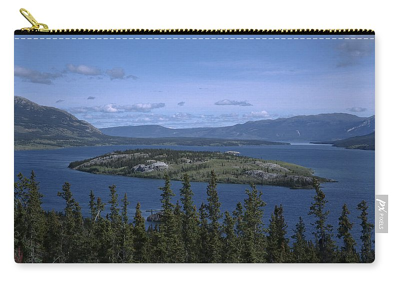 Americas Carry-all Pouch featuring the photograph Bennet Lake by Roderick Bley