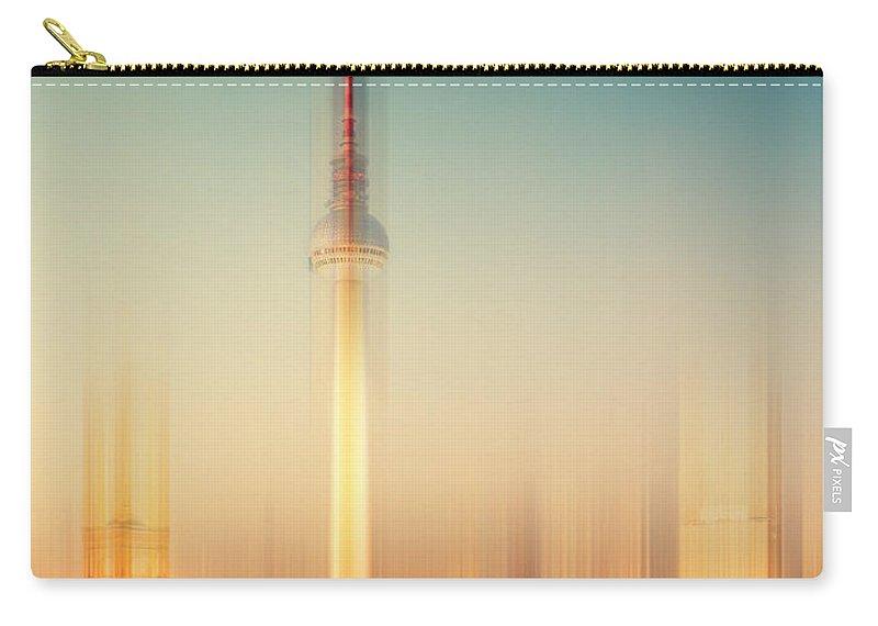 Berlin Carry-all Pouch featuring the photograph Berlin by Alexander Voss