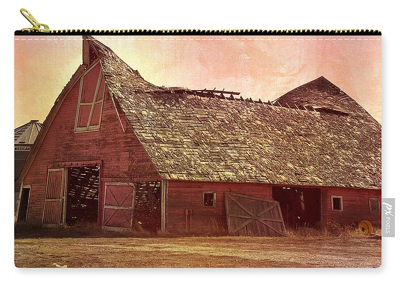 Barn Carry-all Pouch featuring the photograph Better Days by Image Takers Photography LLC - Carol haddon