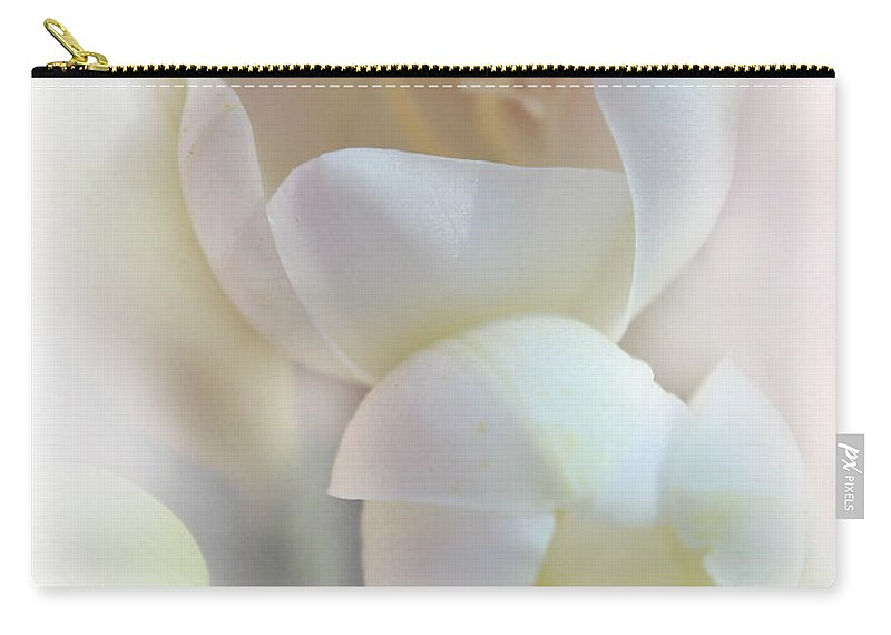 Flower Petals Carry-all Pouch featuring the photograph Better Together by Kume Bryant