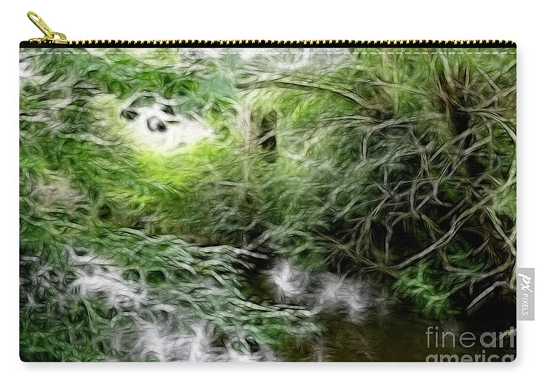 Phallic Carry-all Pouch featuring the photograph Phallic In The Grass by Doc Braham