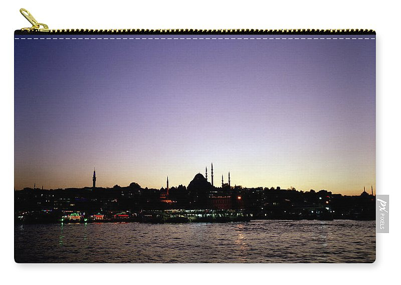 Istanbul Carry-all Pouch featuring the photograph Bewitching Istanbul by Shaun Higson