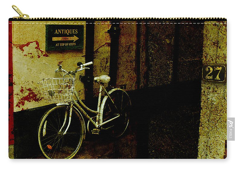 Bicycle Carry-all Pouch featuring the photograph Bicycle by Mal Bray