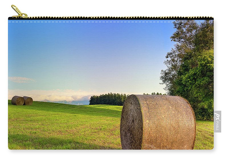 Tranquility Carry-all Pouch featuring the photograph Biei, Hokkaido Japan by Photo By Johnny Ngai
