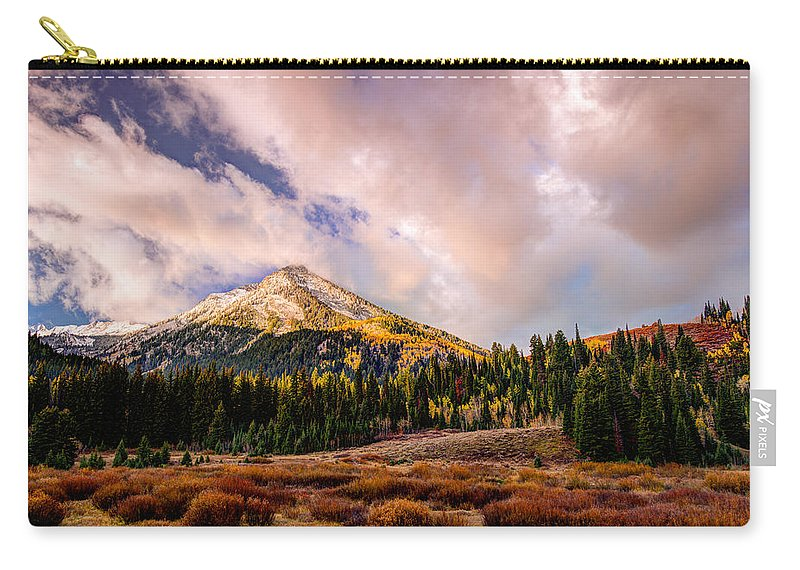 Utah Carry-all Pouch featuring the photograph Big Cottonwood Canyon by Dustin LeFevre
