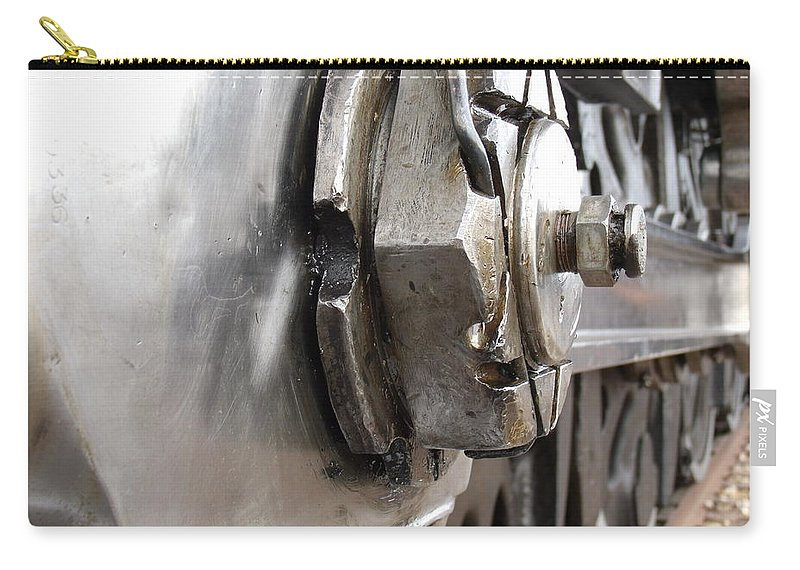 Train Carry-all Pouch featuring the photograph Big Nut by David S Reynolds
