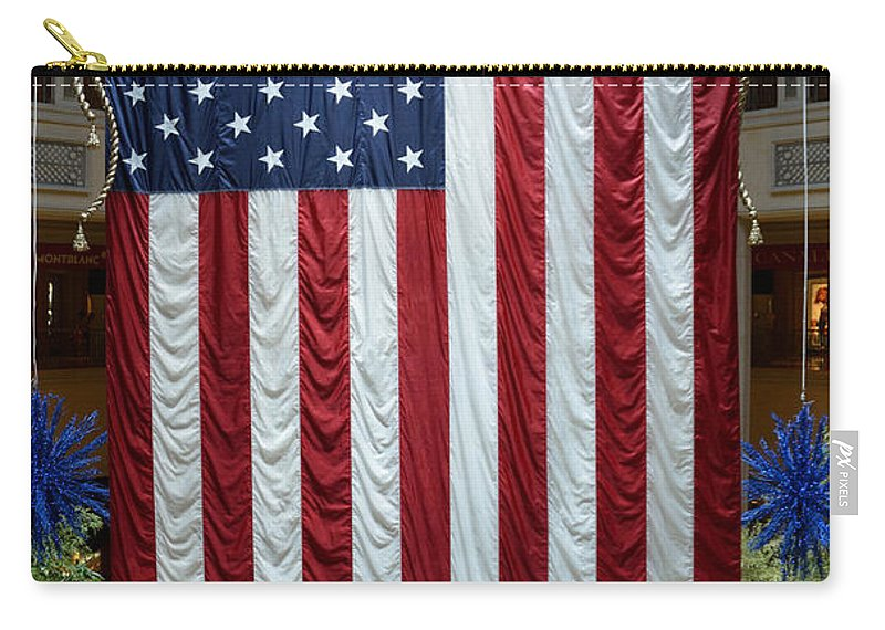 Flag Carry-all Pouch featuring the photograph Big Usa Flag 2 by RicardMN Photography