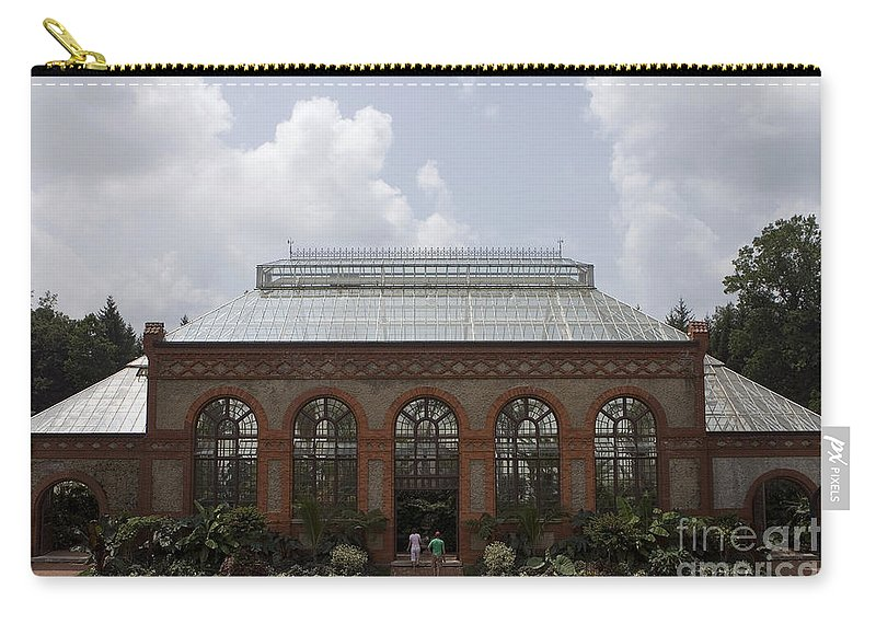 Biltmore Estate Carry-all Pouch featuring the photograph Biltmore Estate Conservatory Walled Garden by Jason O Watson