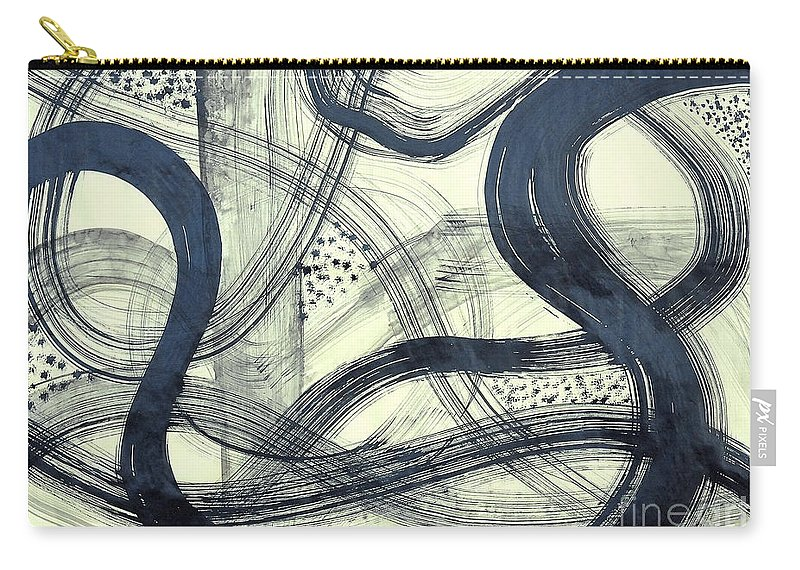 Biological Rhythms Carry-all Pouch featuring the painting Biological Rhythms by Taikan Nishimoto