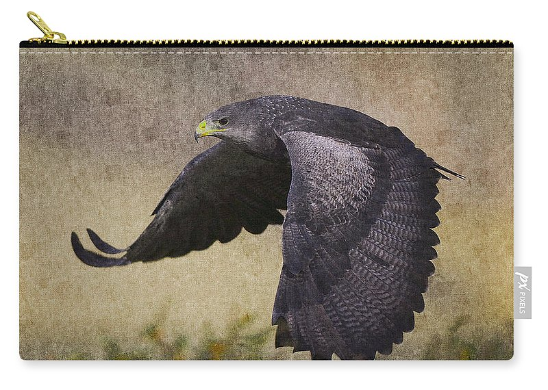 Bird Carry-all Pouch featuring the photograph Bird 3 by Ingrid Smith-Johnsen