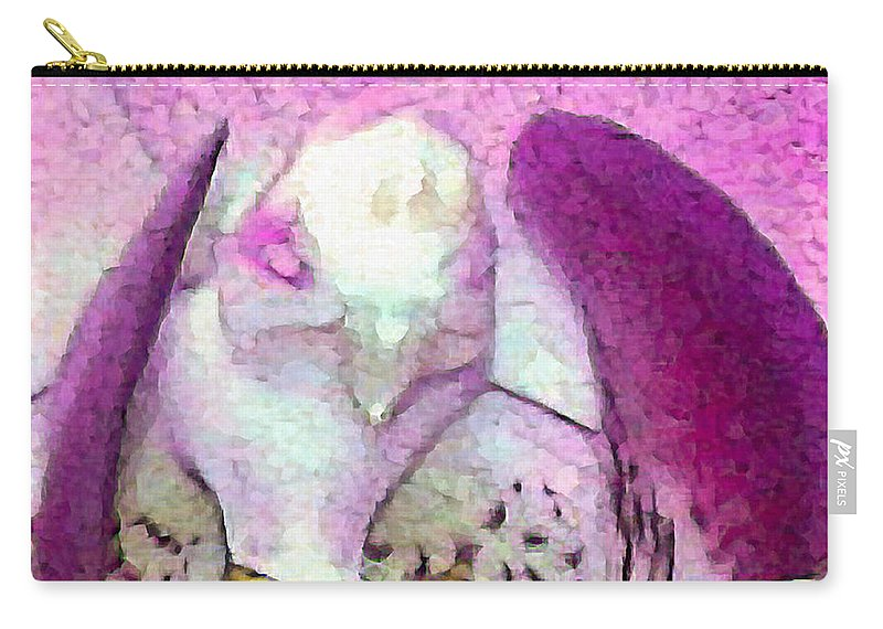 Flowers Carry-all Pouch featuring the photograph Bird Kind Of by David Coblitz