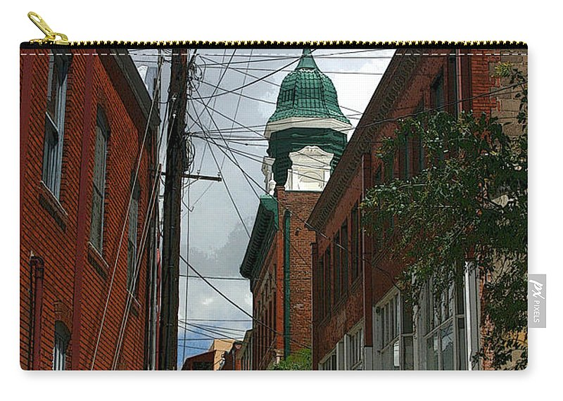 Bisbee Carry-all Pouch featuring the photograph Bisbee Arizona by Joe Kozlowski