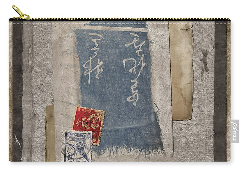 Paper Carry-all Pouch featuring the photograph Bits And Pieces by Carol Leigh