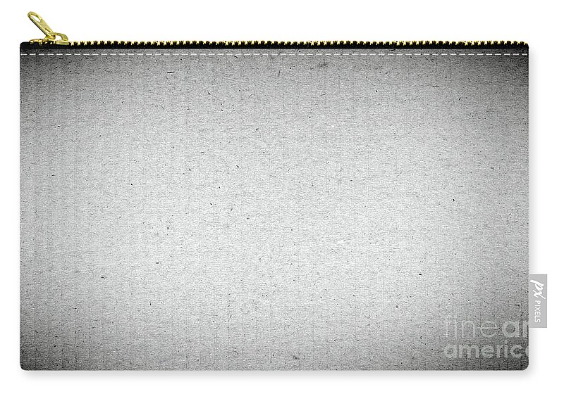 Packing Carry-all Pouch featuring the photograph Black And White Grainy Background by Tim Hester