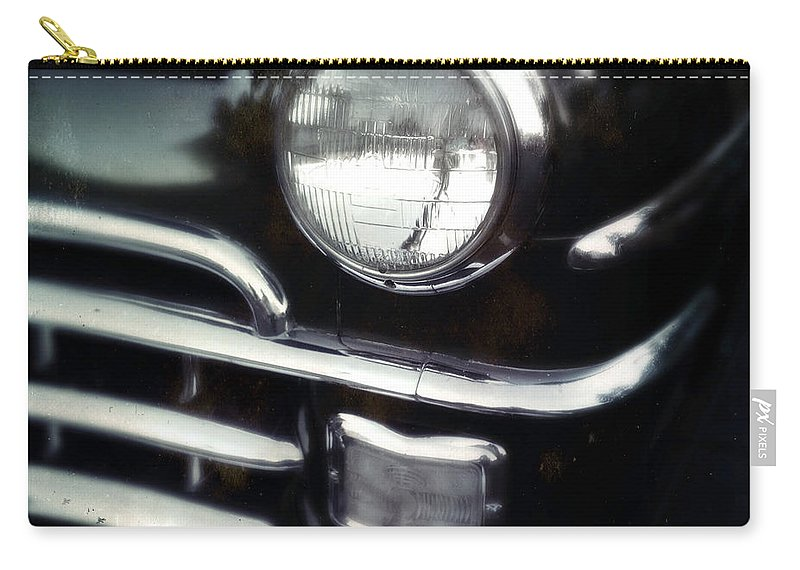 Classic Carry-all Pouch featuring the photograph Black Beauty by Tim Nyberg