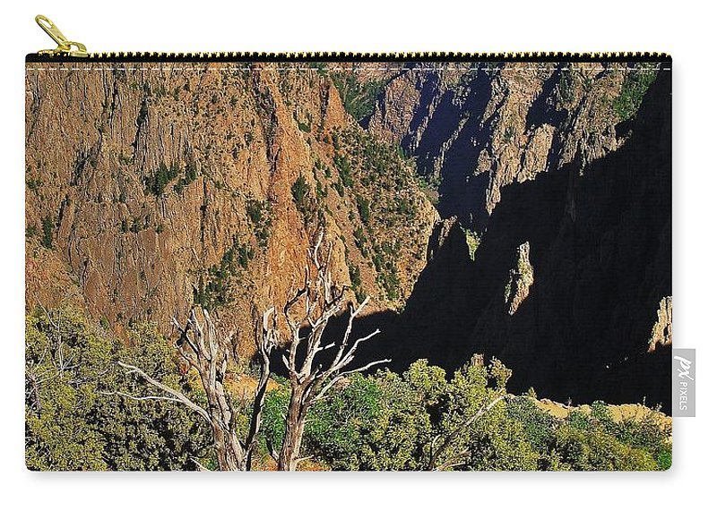 Colorado Carry-all Pouch featuring the photograph Black Canyon by Benjamin Yeager