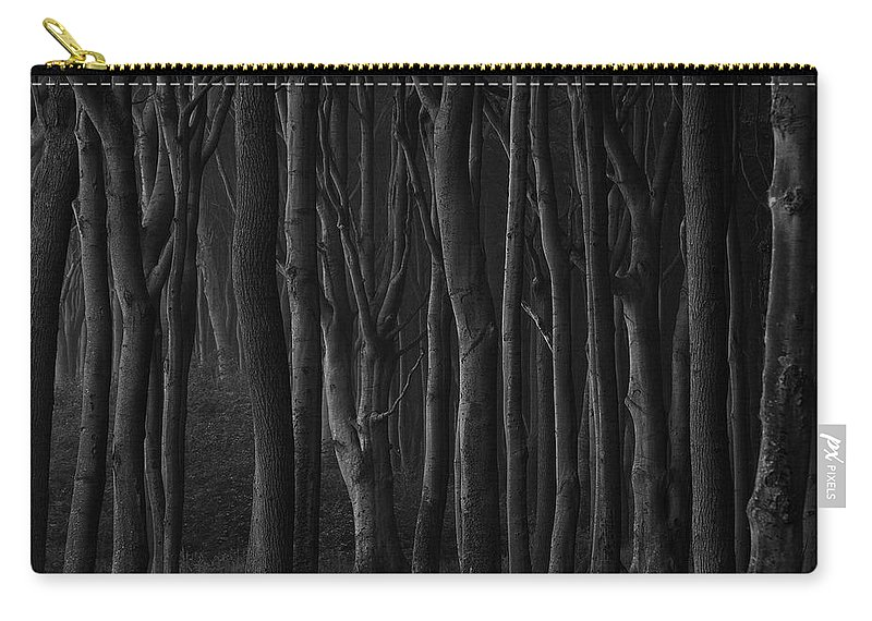Trees Carry-all Pouch featuring the photograph Black Forest by Heiko Koehrer-Wagner