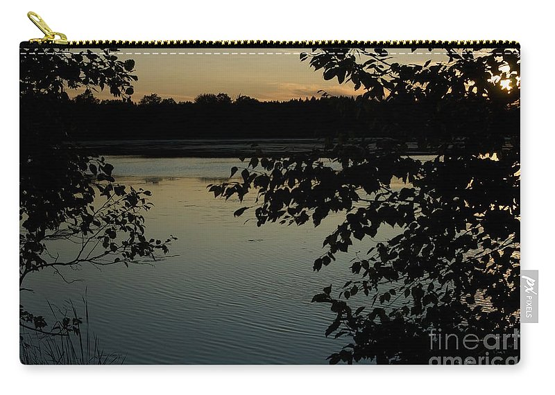 Camping Carry-all Pouch featuring the photograph Black Oak by Joseph Yarbrough