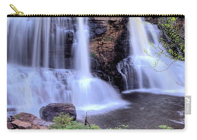 6886 Carry-all Pouch featuring the photograph Blackwater Falls by Gordon Elwell