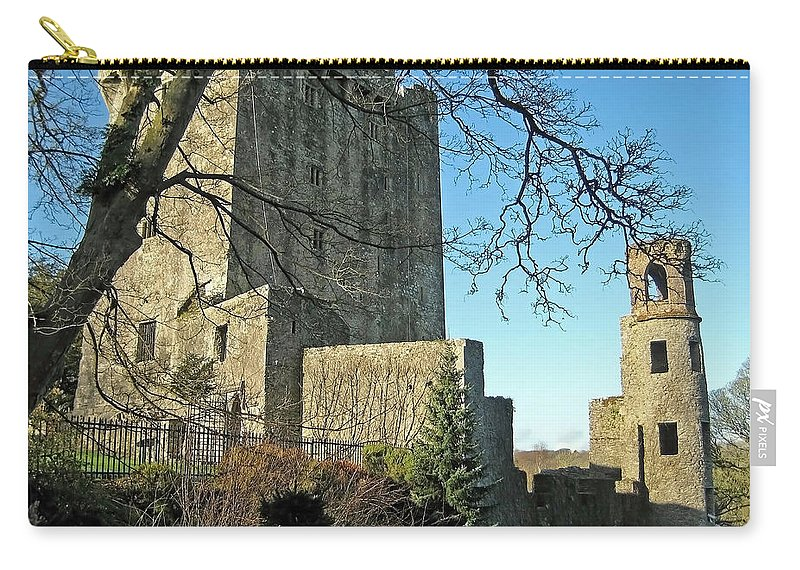 Blarney Carry-all Pouch featuring the photograph Blarney Castle Ireland by Shanna Hyatt