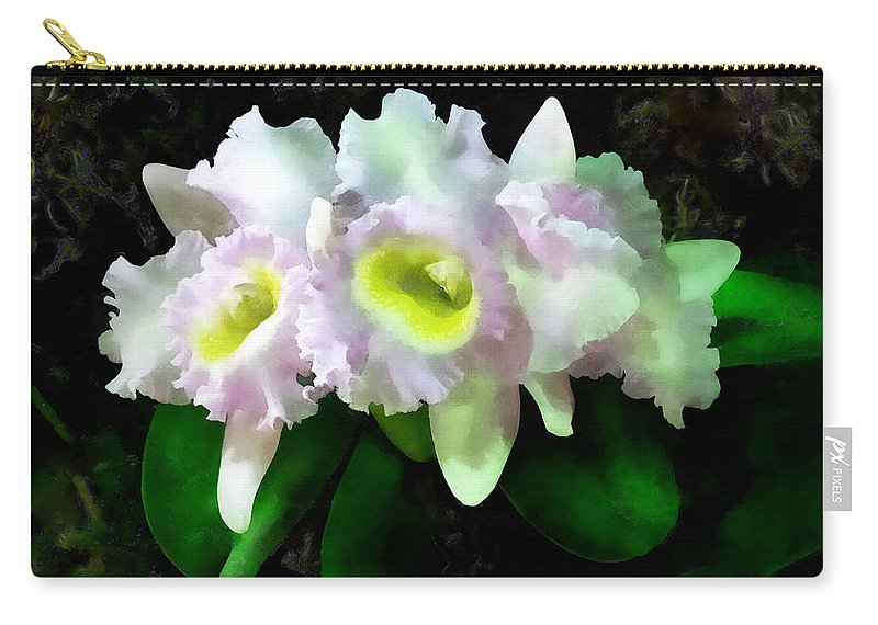 Orchid Carry-all Pouch featuring the photograph Blc Mary Ellen Underwood Krull-smith by Susan Savad