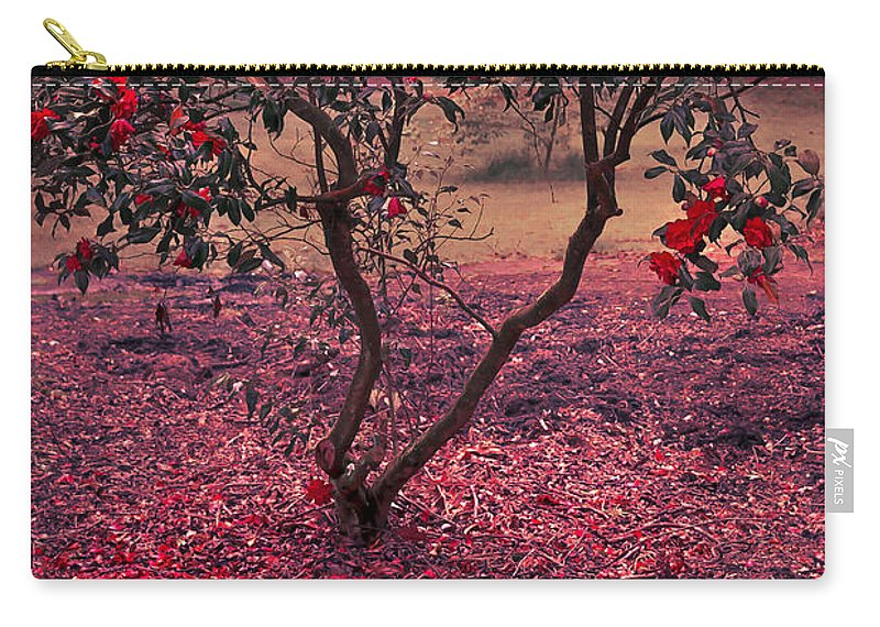 Air Carry-all Pouch featuring the photograph Bleeding Tree by Svetlana Sewell
