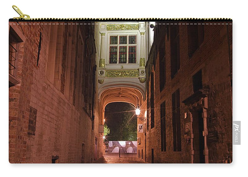 3scape Carry-all Pouch featuring the photograph Blind Donkey Alley by Adam Romanowicz