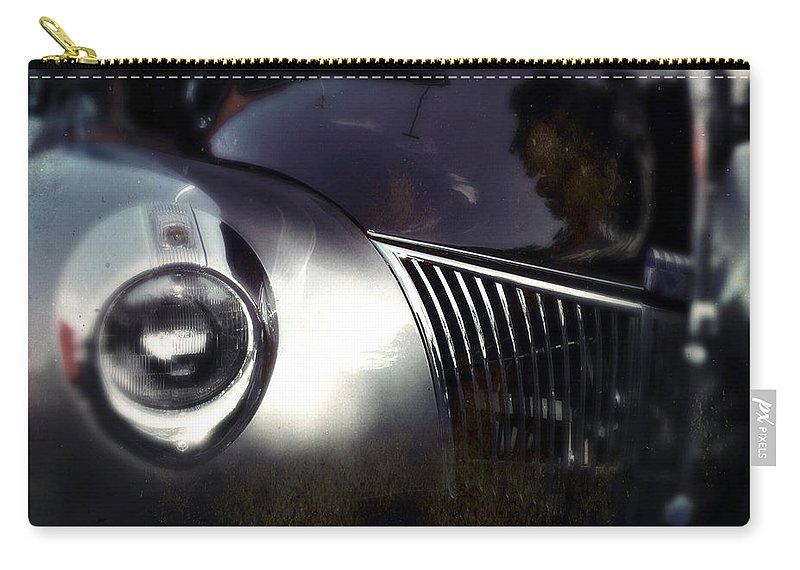 Classic Carry-all Pouch featuring the photograph Bloodshot Eye by Tim Nyberg